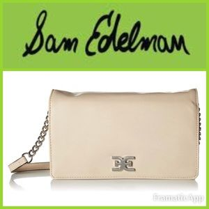 🆕💚SAM EDELMAN Rose Flap Shoulder Bag